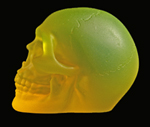smlflouror1 PHOSPHORESCENT SKULL