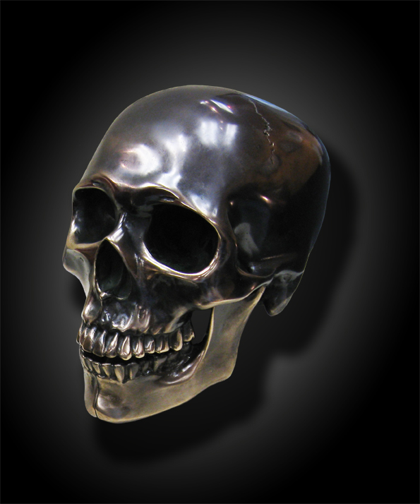 Bronze Skull   Art Sku...