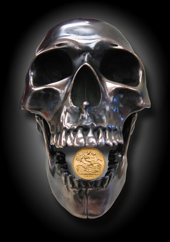 Bronze Skull & Soveriegn