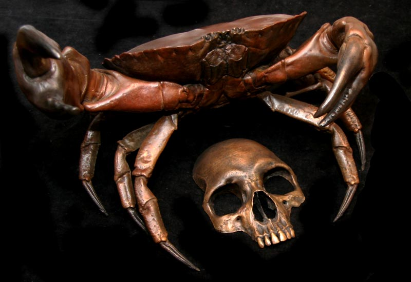 Crab & Skull